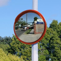 "32"" high visibility traffic mirror"