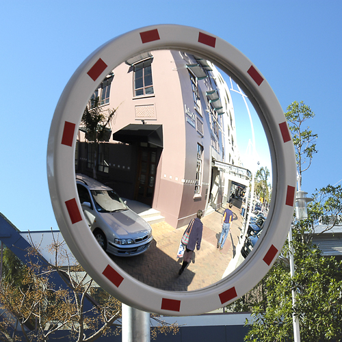 "32"" reflective safety traffic mirror"