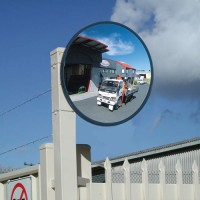 "24"" unbreakable traffic mirror"