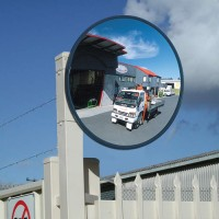 "32"" unbreakable traffic mirror"