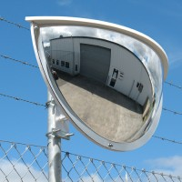 "36"" two-way driveway mirror"